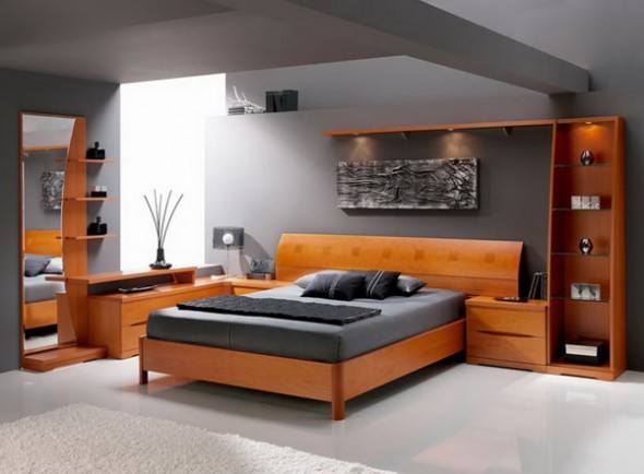 how to organize small bed room