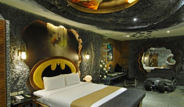 unusual bedroom design ideas bathman theme bedroom