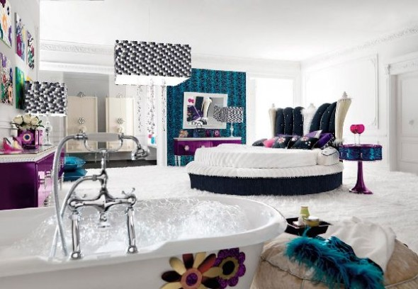 Glamour Bedroom Design Ideas in Amazing Bedroom Design and Glamour - Pop Collection by Altamoda