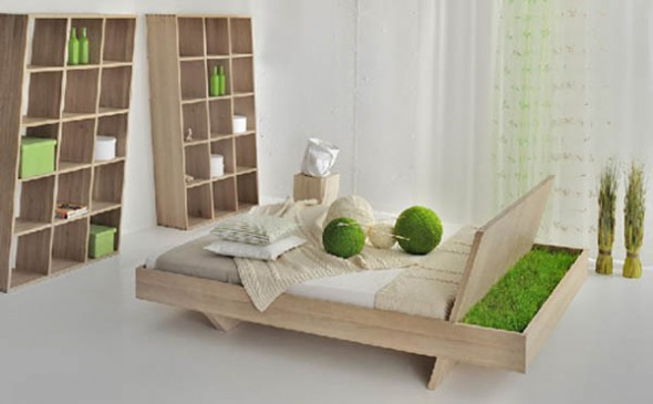 unusual wooden bedroom design ideas
