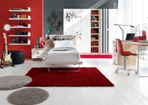 color wheel interior bedroom design