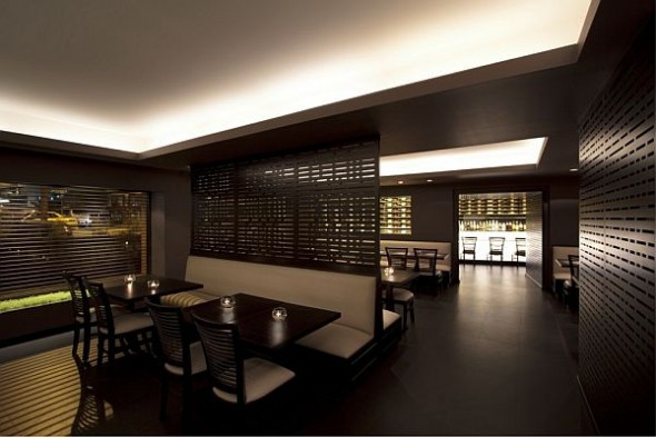 Elegant And Comfortable Dim Sum Bar Interior Design
