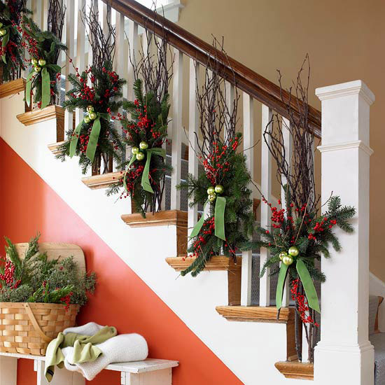 How To Decorate The Interior Of A House For Christmas Design2