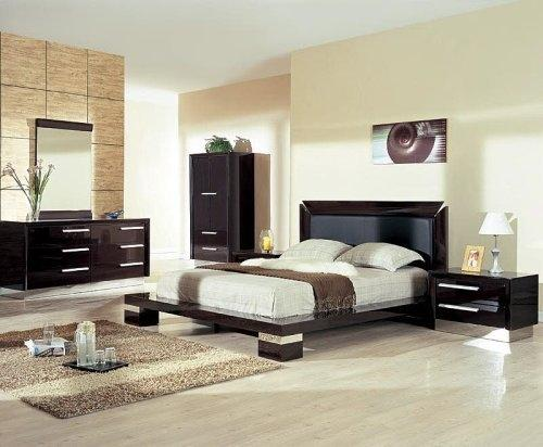 Modern European bedroom