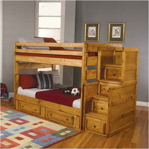 San+Bernardino+Full-Full+Bunk+Bed-Bedroom Decorating Ideas for Creative Kids Rooms