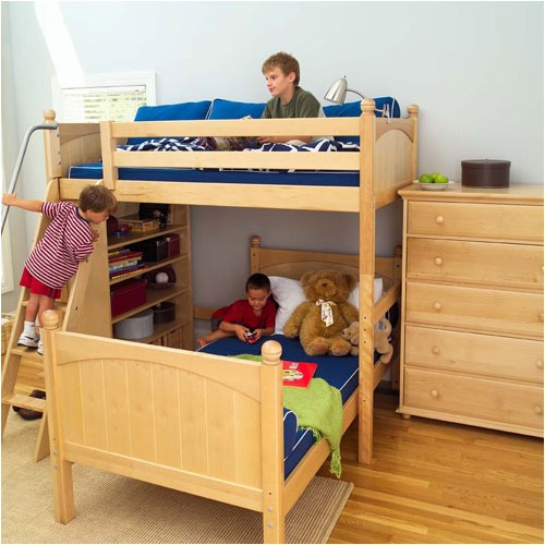 Twin+High+Loft+Bunk+Bed+with+High+Bookcase+Bedroom+Set-Bedroom Decorating Ideas for Creative Kids Rooms