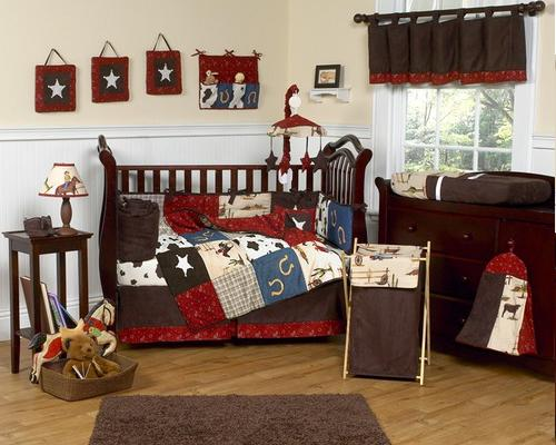 Wild West Cowboy Crib Bedding Kits Bedroom Decorating Ideas For Creative Kids Rooms
