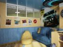 Blue yellow kids room