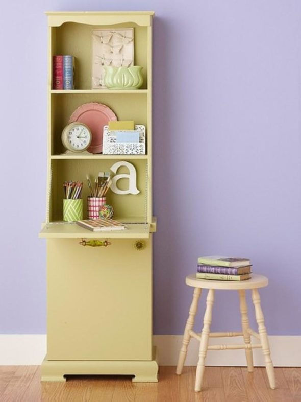 Bookcase, After - Reusing Furniture for Your Home Decoration