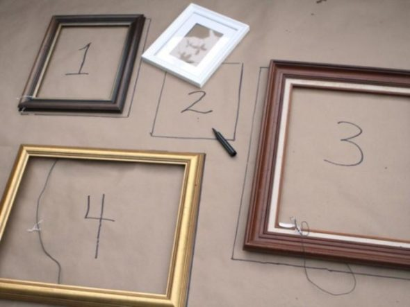 Empty Frames, Before - Treasure Furniture from Your Trash