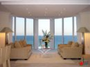 Entertaining and Elegant Open Airy Themed Living Room Design with Charming Atmosphere