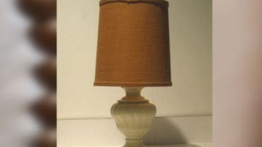 Lamp, before, Nate Berkus - Treasure Furniture from Your Trash