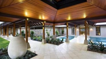 Luxury Home Design Breezeways