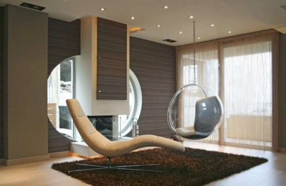 Relaxing Chair - Luxurious Home Design
