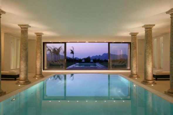 Luxury Villa Design Indoor Pool