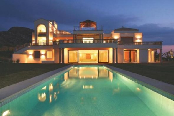 Luxury Villa Design Pool Design
