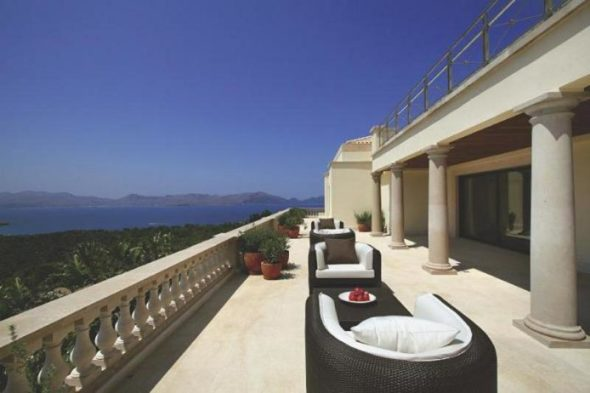 Luxury Villa Design Terrace