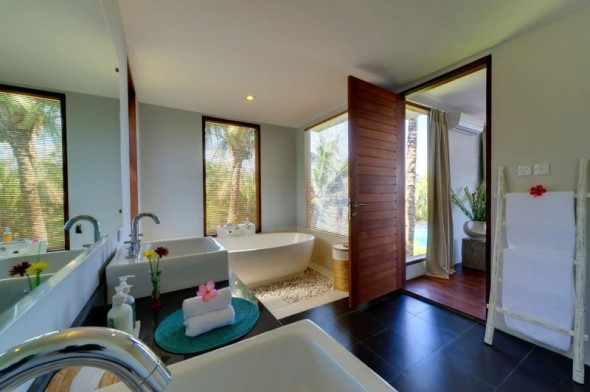 Malimbu Cliff Villa - Bathroom