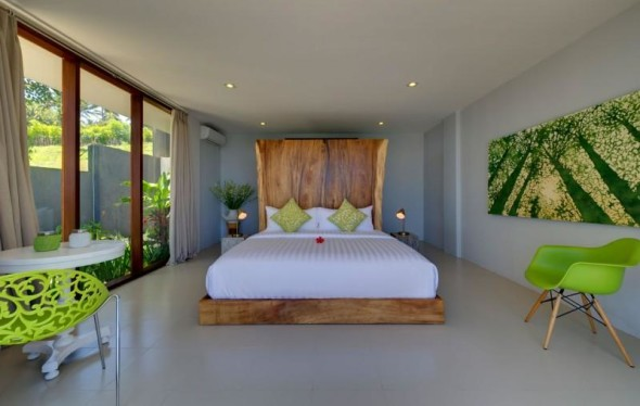 Malimbu Cliff Villa - Bedroom