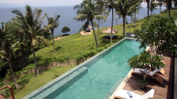 Malimbu Cliff Villa - Pool