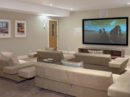 Modern Luxury House Design Home Theater