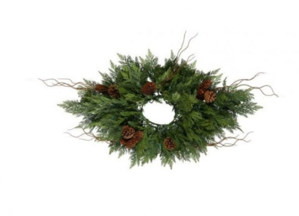 Holiday Wreath- Christmas Details