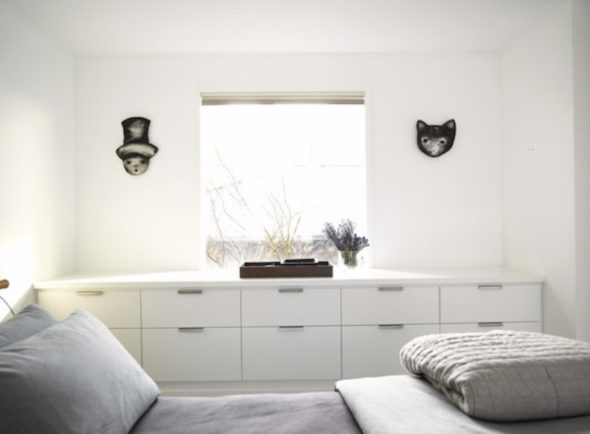 Small Bedroom - Let in natural light whenever possible and utilize creative storage