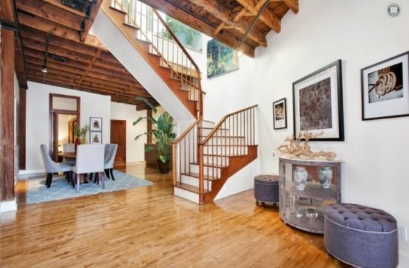 Stairs-Living in Katy Perry Dream House