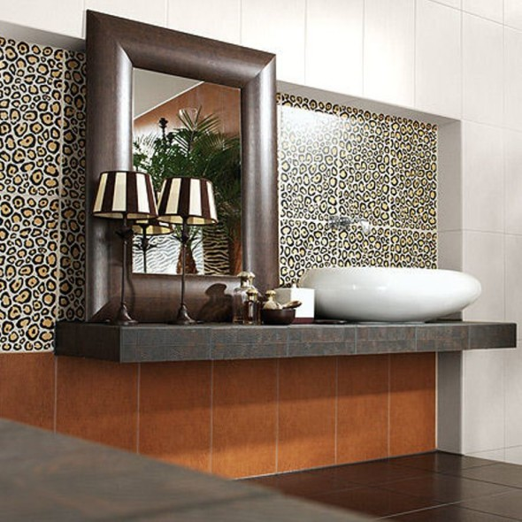 Animal Print Tile for the Wall
