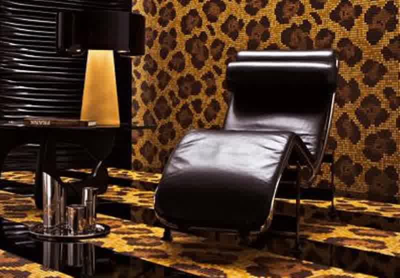 Mosaic Leopard Animal Print